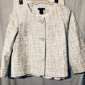SKIRT SUIT BY MADISON STUDIO SIZE 12